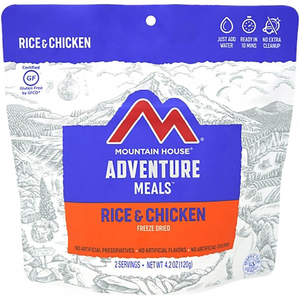 photo: Mountain House Rice & Chicken meat entrée