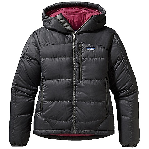 photo: Patagonia Women's Fitz Roy Down Hoody down insulated jacket