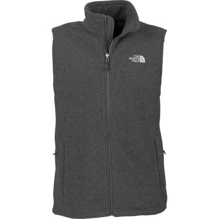 photo: The North Face Men's Khumbu Vest fleece vest