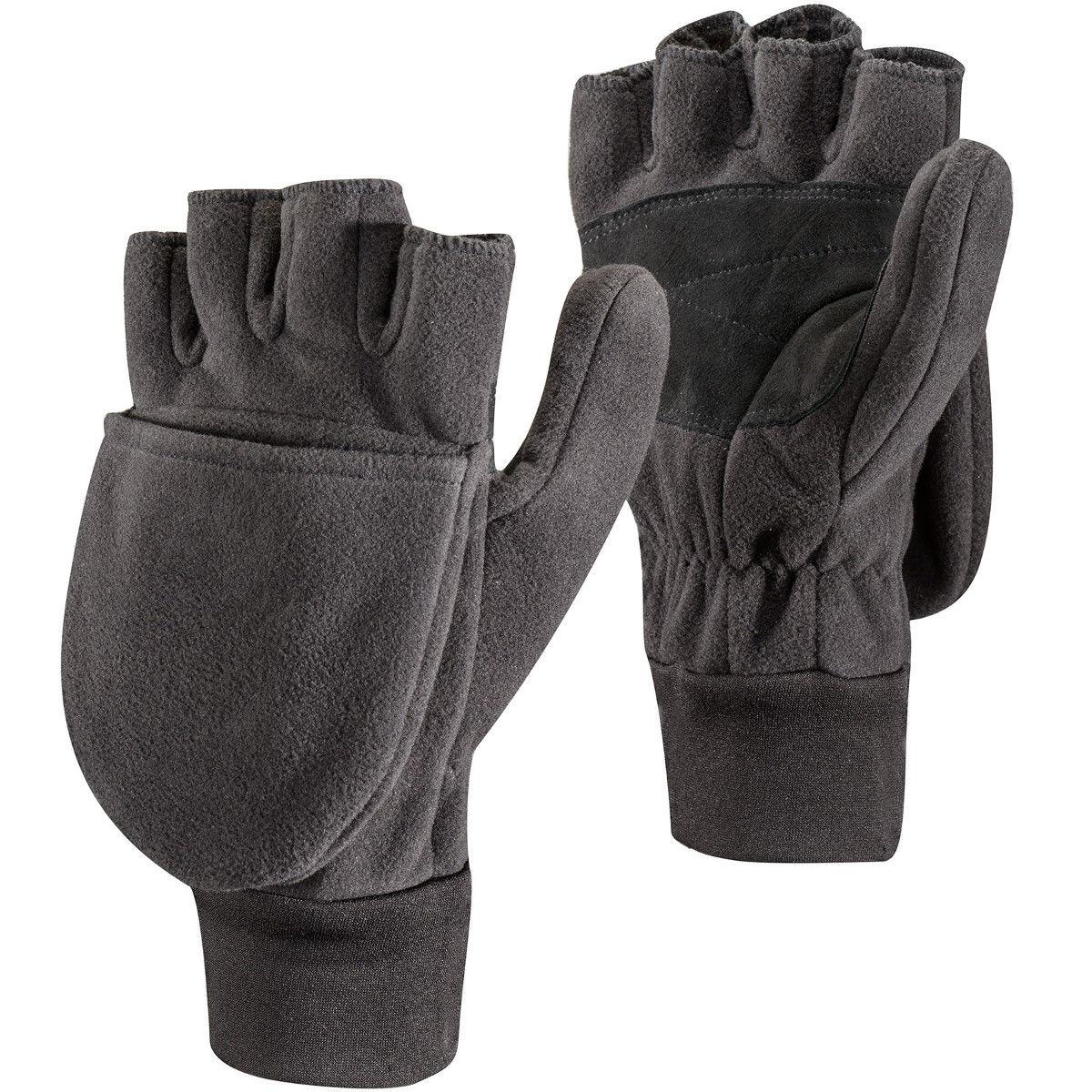 photo: Black Diamond WindWeight Mitts fleece glove/mitten