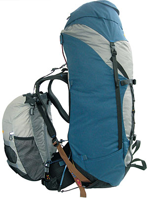 photo of a Aarn expedition pack (4,500+ cu in)