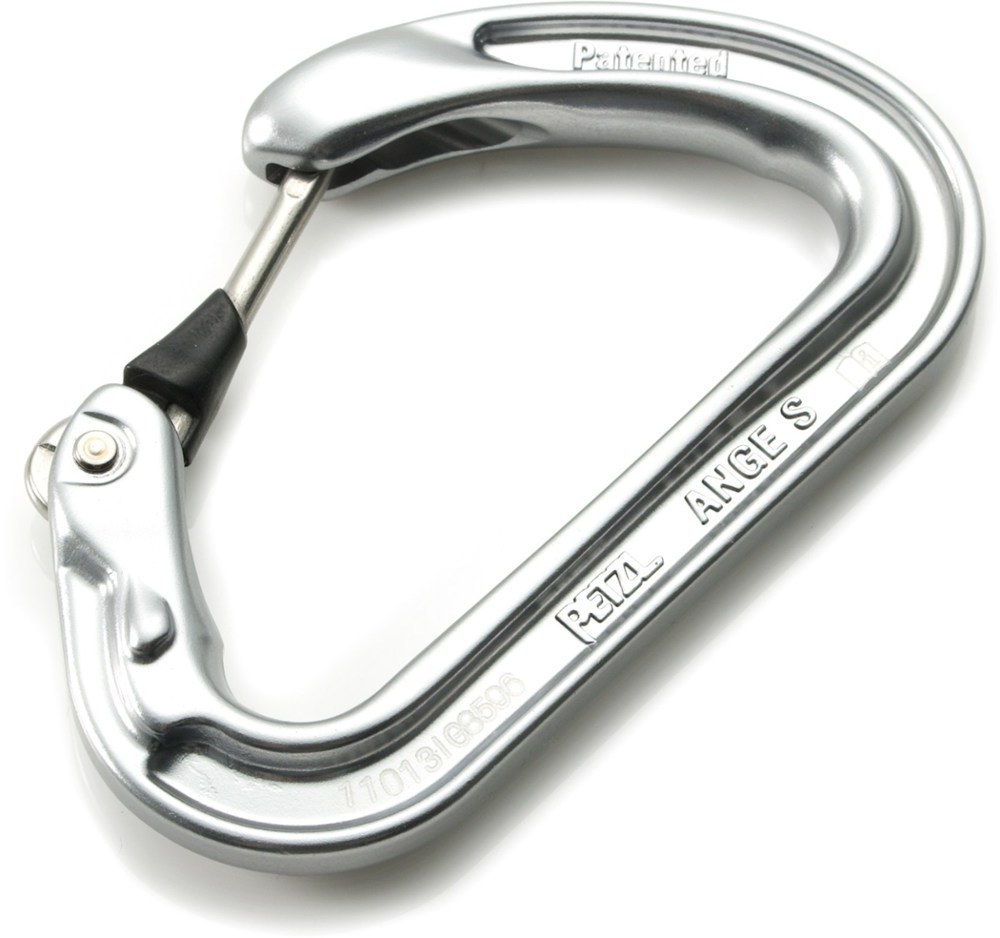 photo: Petzl Ange S non-locking carabiner