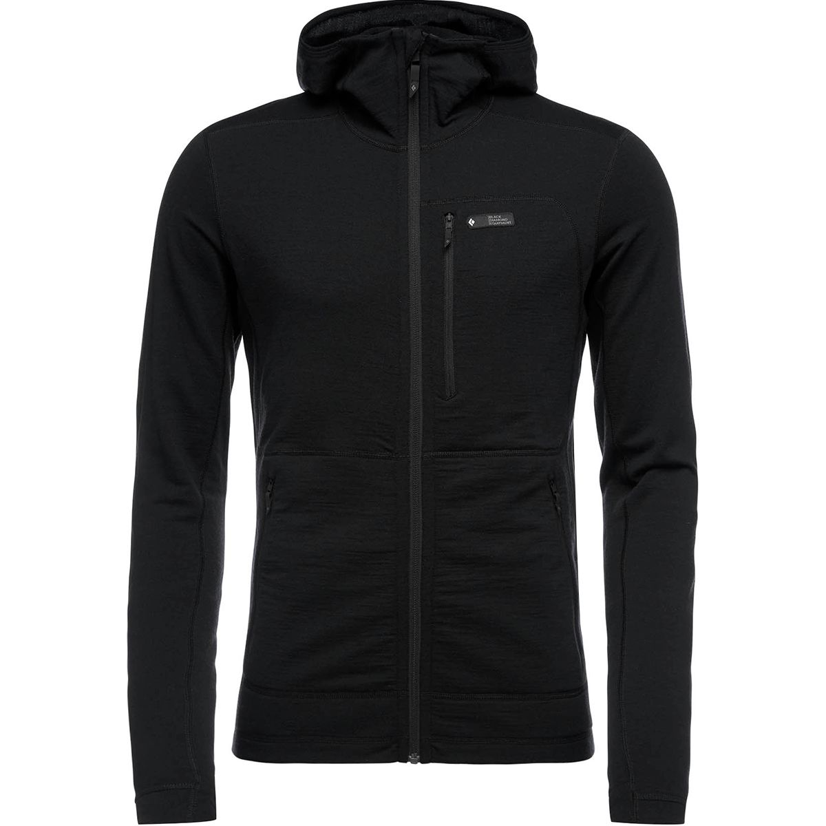 photo: Black Diamond Solution Merino Hoody wool jacket