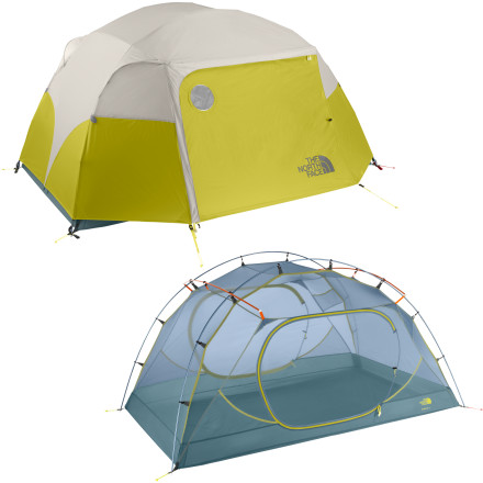 photo: The North Face Minibus 3 three-season tent