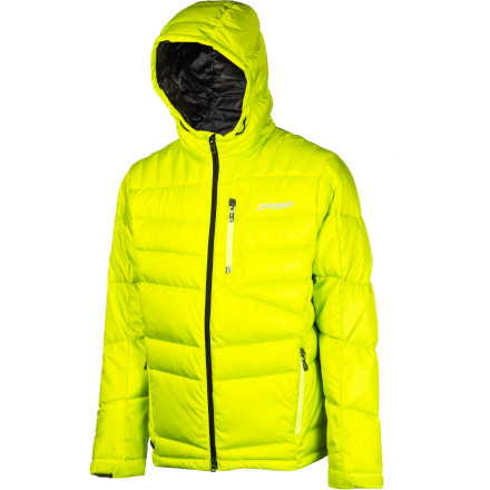 photo: Spyder Diehard Down Jacket down insulated jacket