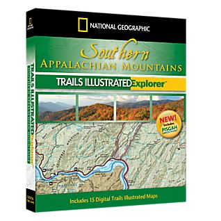 National Geographic Southern Appalachian Mountains Explorer 3D CD-ROM