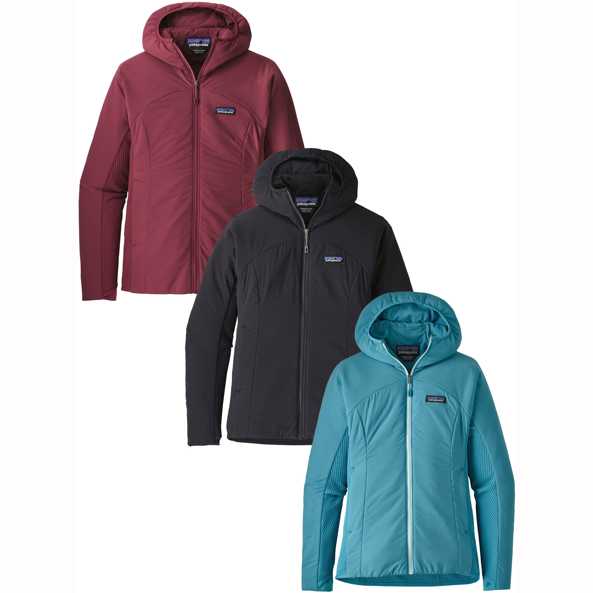 photo: Patagonia Women's Nano-Air Light Hybrid Hoody synthetic insulated jacket