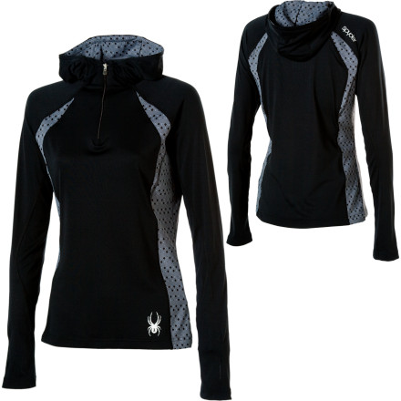 photo: Spyder Voltage Hoody T-Neck fleece top
