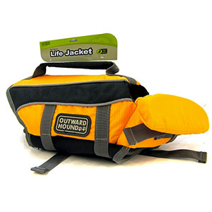 photo of a Outward Hound dog life jacket