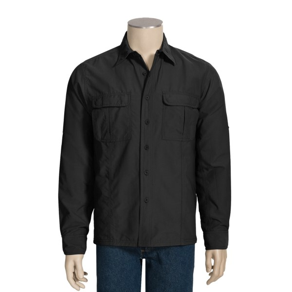 photo: Royal Robbins Boise Long-Sleeve hiking shirt