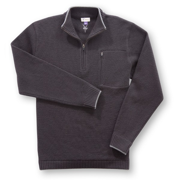 photo: Ibex Ultimate Guide Sweater fleece top