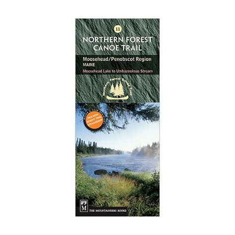 The Mountaineers Books Northern Forest Canoe Trail Map #11 -- Moosehead, Penobscot Maine