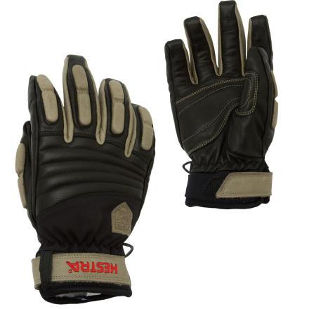 photo: Hestra Leather Shape Glove waterproof glove/mitten
