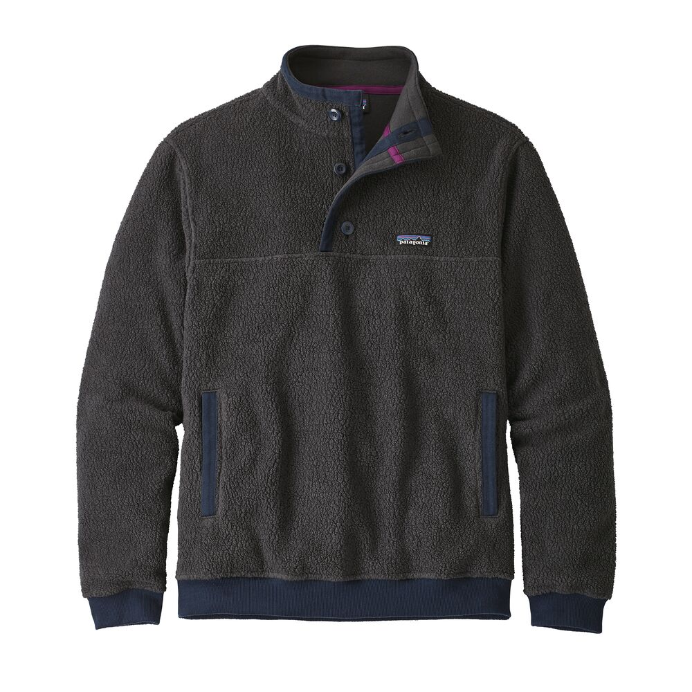 Patagonia Shearling Button Pullover