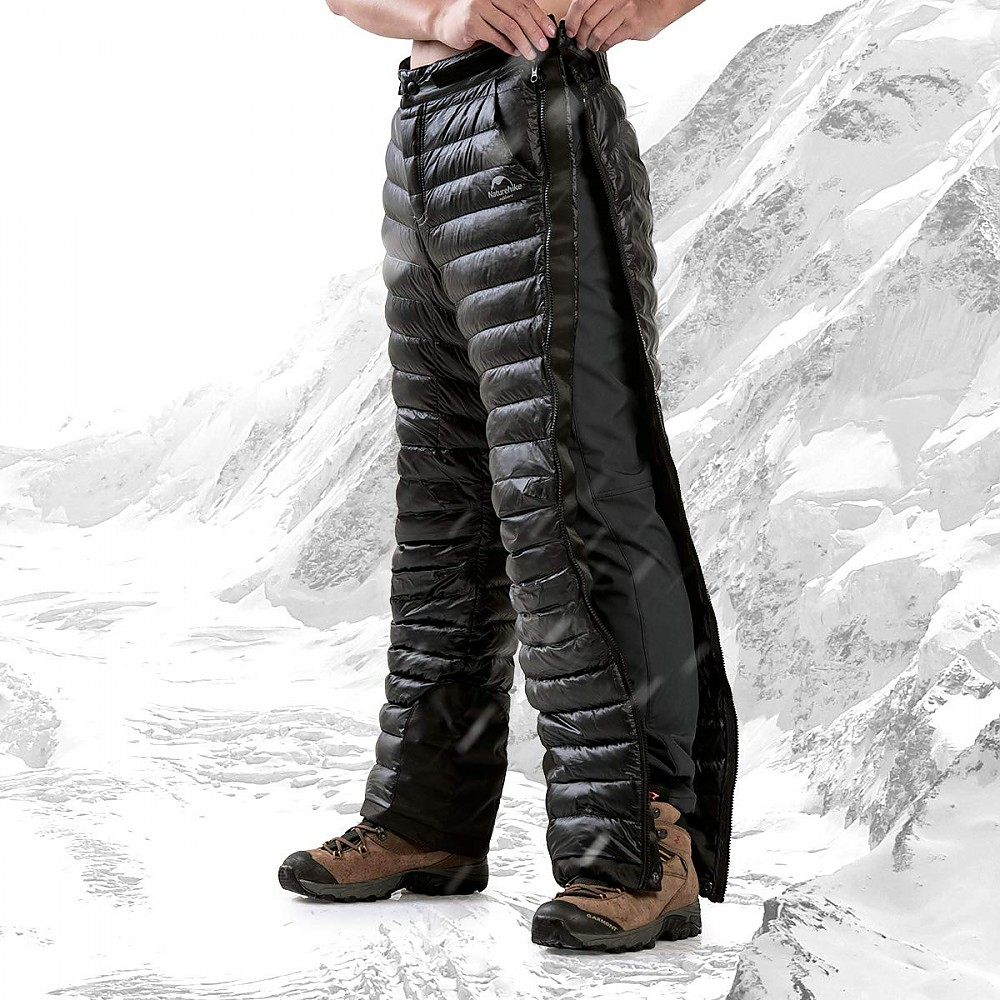 photo: Naturehike Tofern Full-Zip White Goose Down Pants down insulated pant
