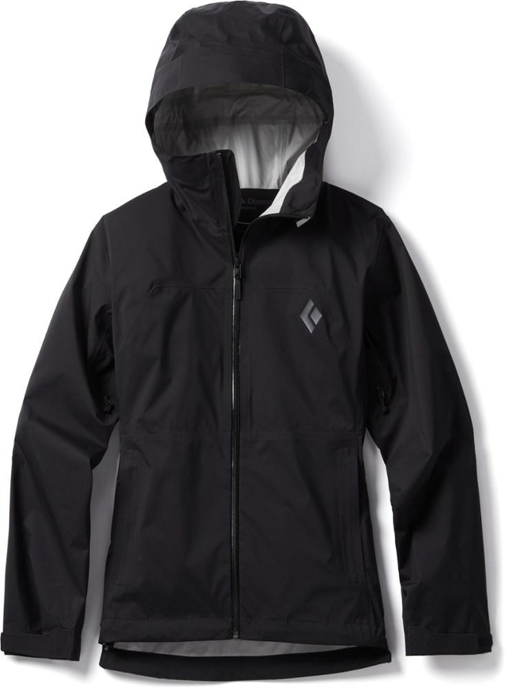photo: Black Diamond Women's StormLine Stretch Rain Shell waterproof jacket