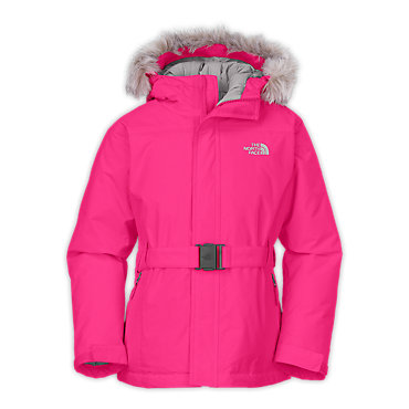photo: The North Face Girls' Greenland Jacket down insulated jacket