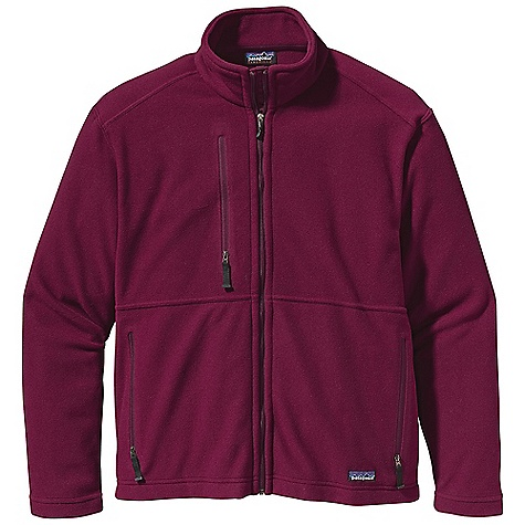 photo: Patagonia Men's Micro Synchilla Jacket fleece jacket