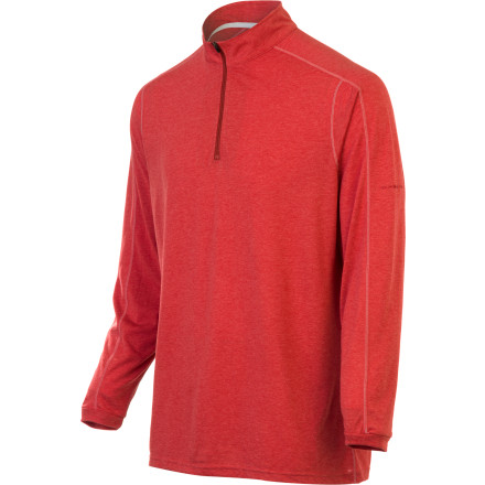 ExOfficio ExO Dri 1/4 Zip Long-Sleeve Tee