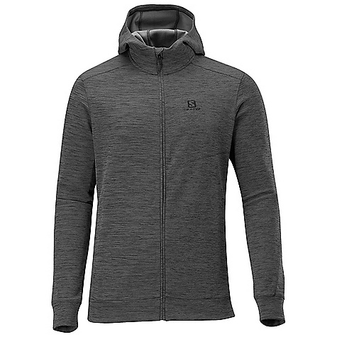 photo: Salomon Mountain Hoodie fleece jacket