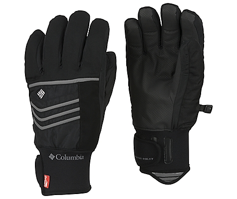 photo: Columbia Men's Gathering Storm Short Gloves insulated glove/mitten
