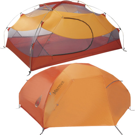 photo: Marmot Aeolos 2P three-season tent