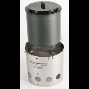photo: Littlbug Junior solid fuel stove