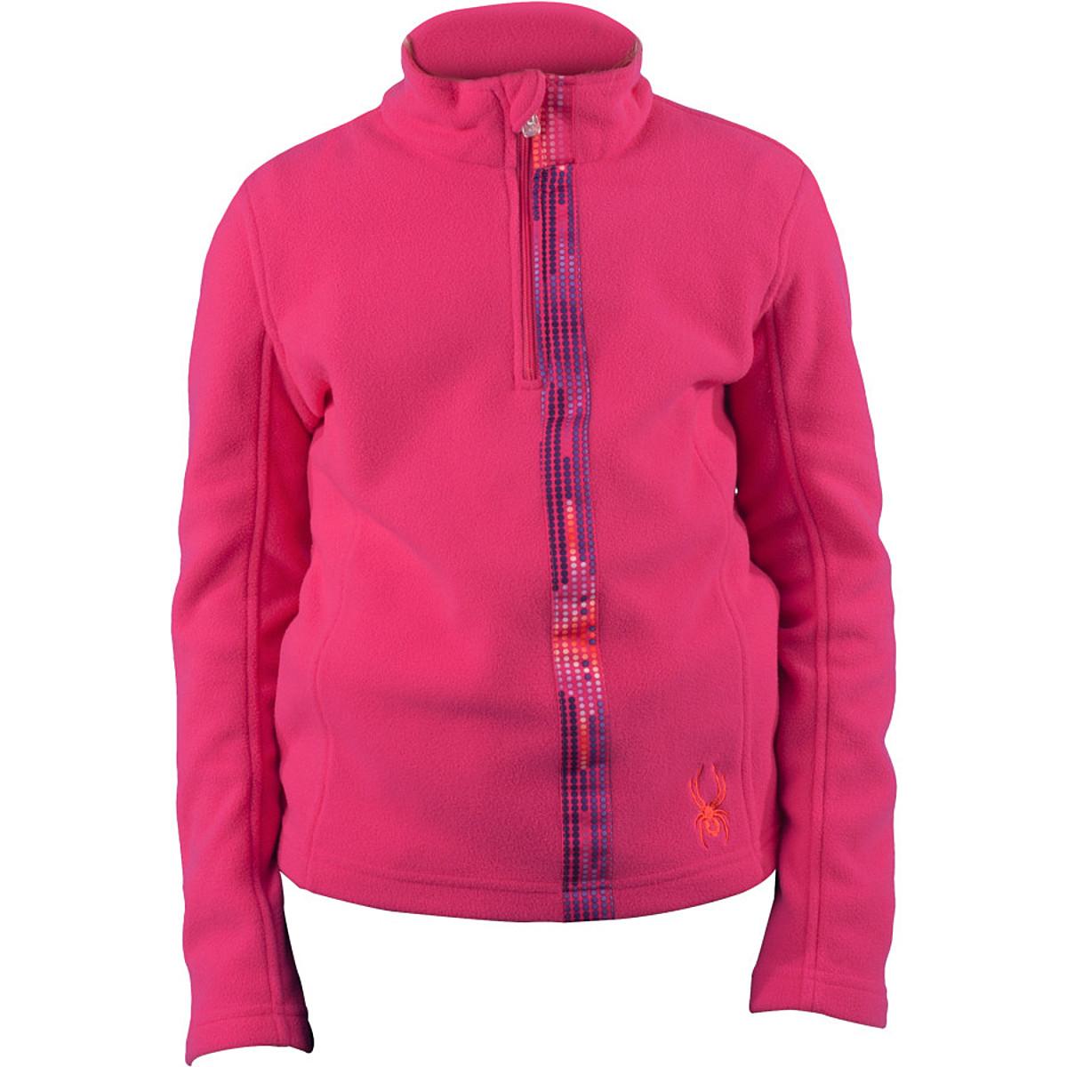 photo: Spyder Girls' Speed Fleece T-Neck fleece top