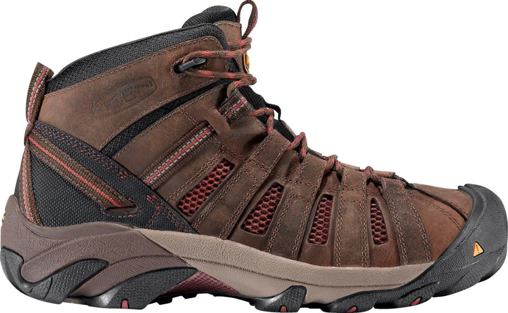 photo: Keen Flint Mid hiking boot