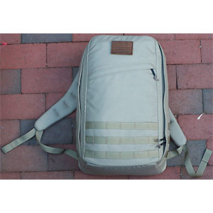 photo of a Goruck daypack (under 2,000 cu in)