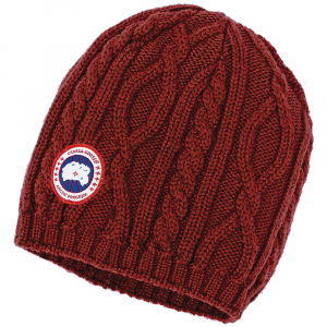 photo: Canada Goose Merino Cable Beanie winter hat