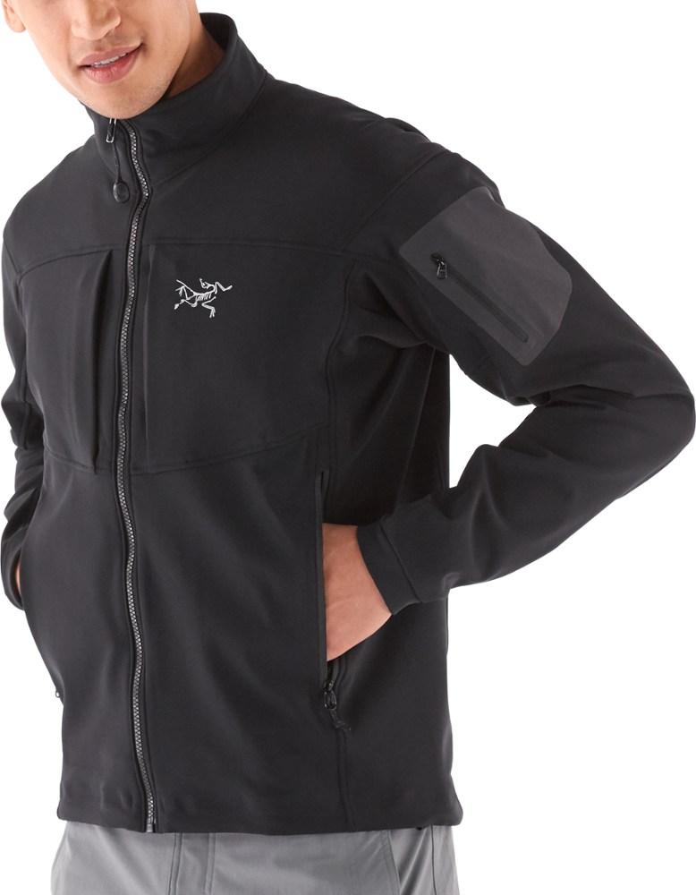 photo: Arc'teryx Men's Gamma MX Jacket soft shell jacket