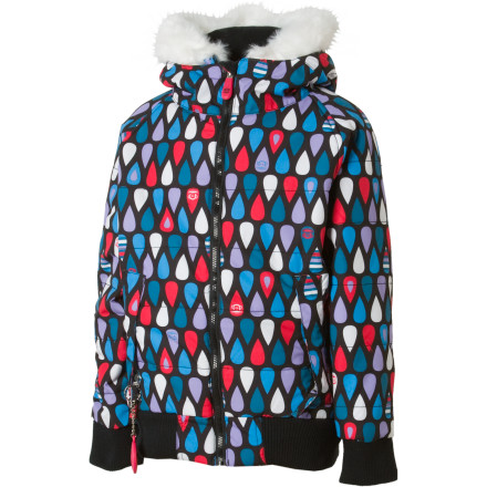 photo: Paul Frank Splash Puffy Jacket snowsport jacket