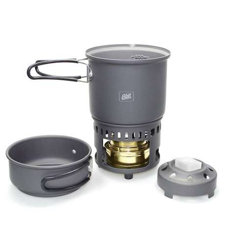 photo: Esbit Alcohol Stove & Trekking Cookset CS985HA alcohol stove