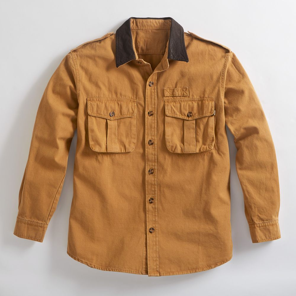 National Geographic Explorer's Rugged Canvas Shirt