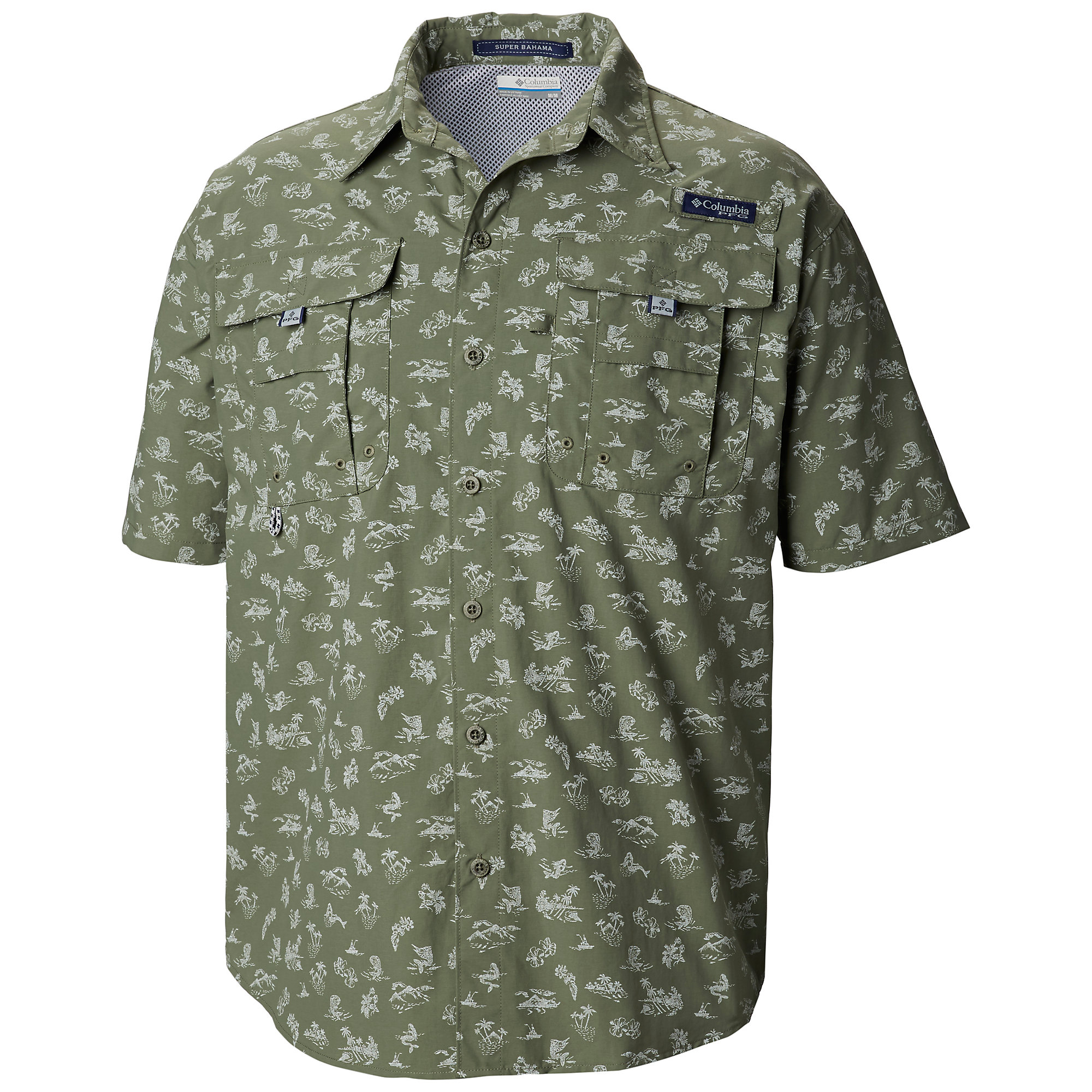 Columbia PFG Super Bahama Short Sleeve Shirt