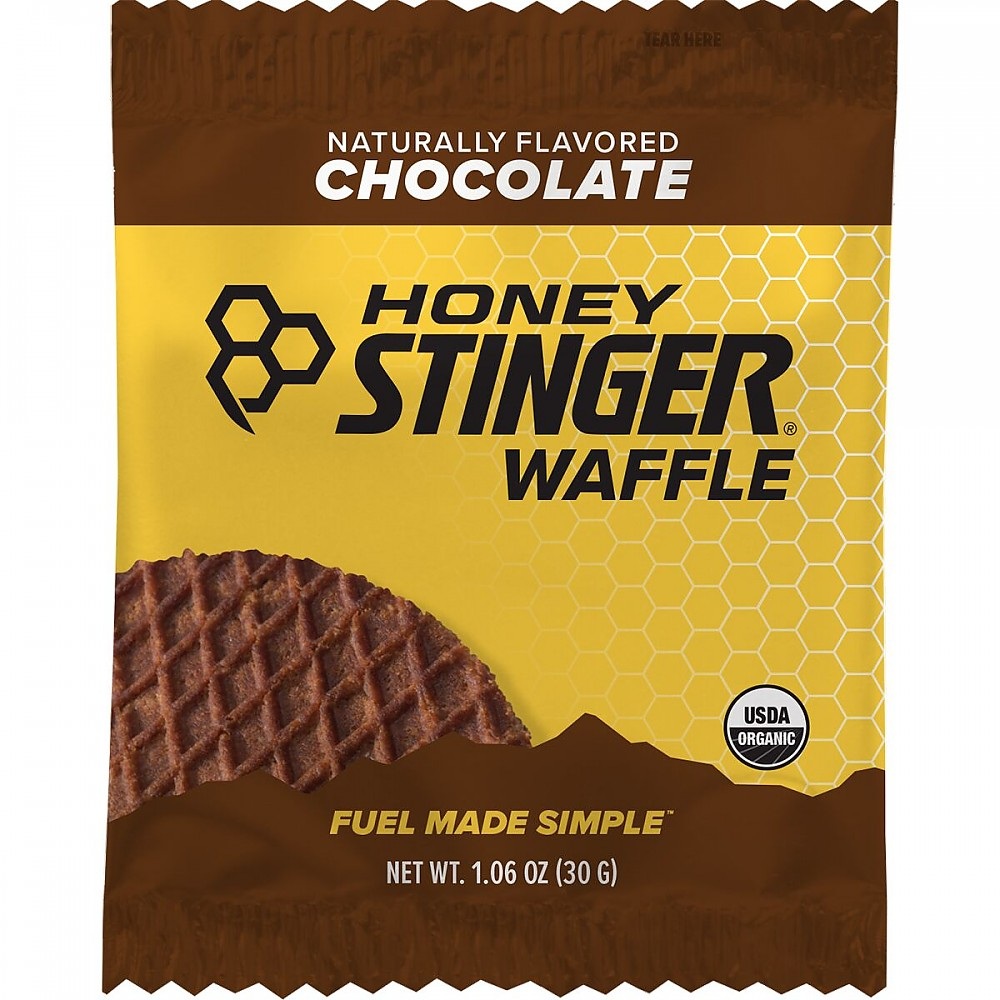 photo: Honey Stinger Energy Waffle nutrition bar