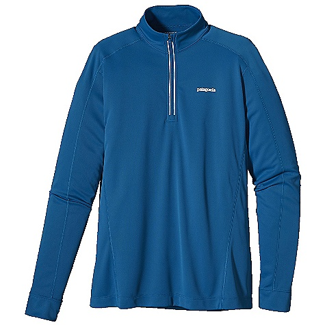 photo: Patagonia Men's Fore Runner 1/4-Zip long sleeve performance top