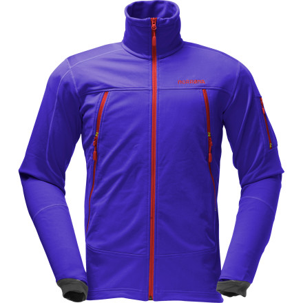 photo: Norrona Narvik Warm2 Stretch Jacket fleece jacket