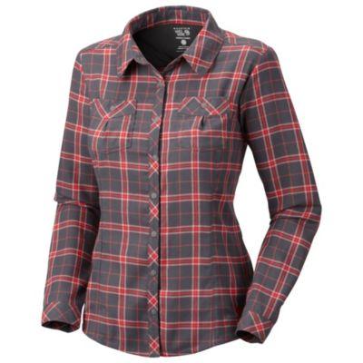 photo: Mountain Hardwear Women's Trekkin Flannel Shirt hiking shirt