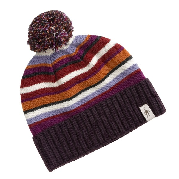 photo: Smartwool Latte Stripe Hat winter hat