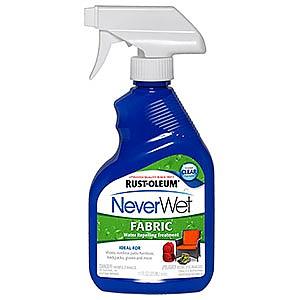 photo:   Rust-Oleum NeverWet Fabric fabric cleaner/treatment