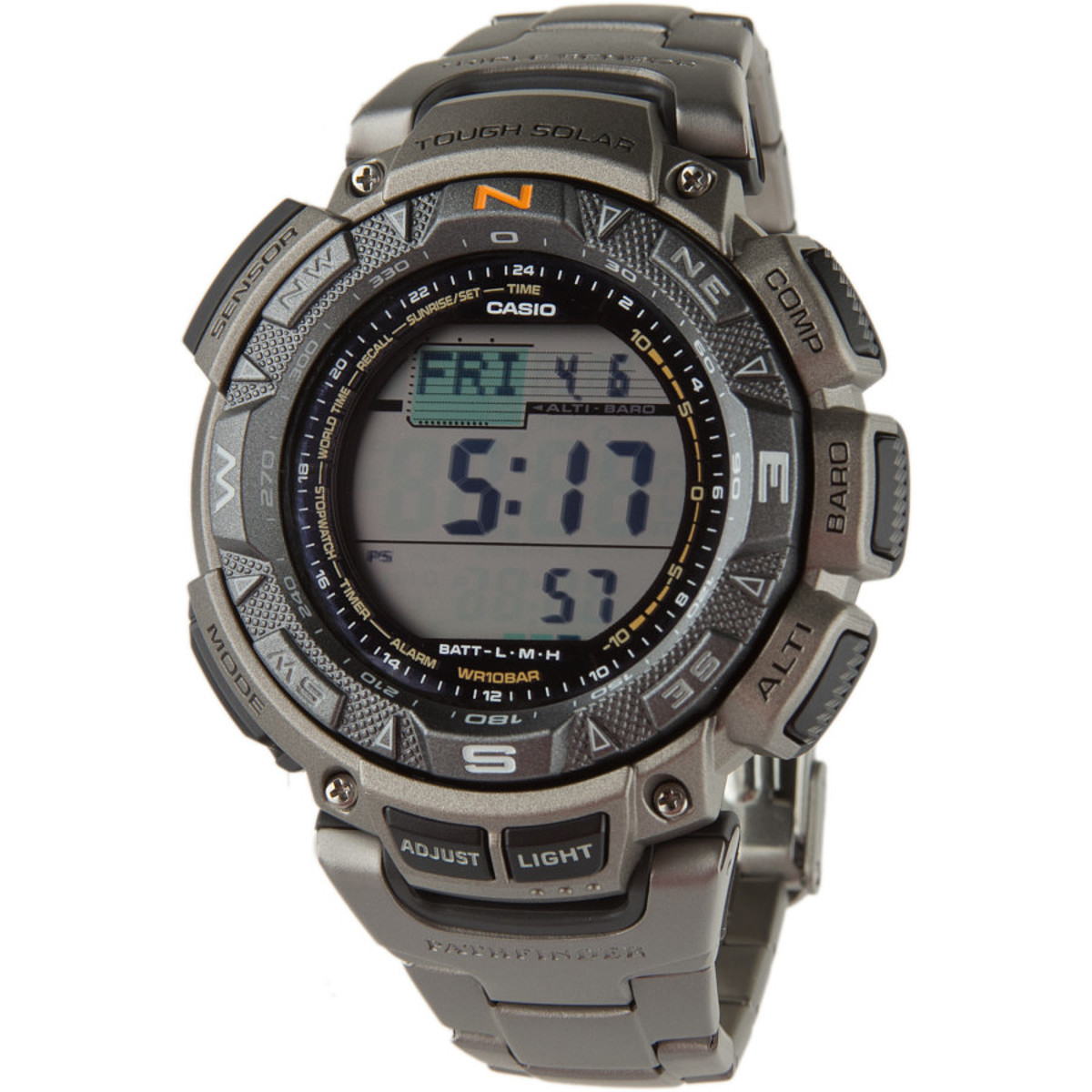 photo: Casio PAG240T-7 compass watch