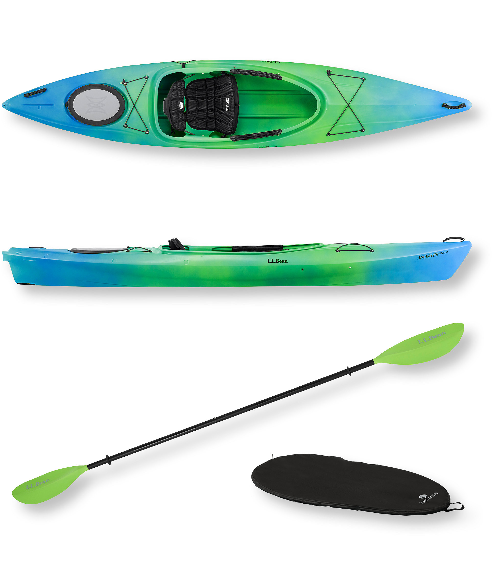 photo: L.L.Bean Manatee Deluxe Solo 12 recreational kayak