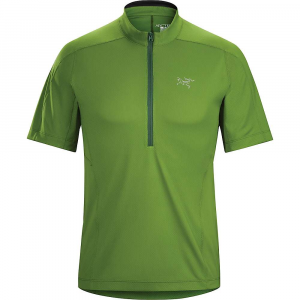 photo: Arc'teryx Men's Velox Zip Neck short sleeve performance top