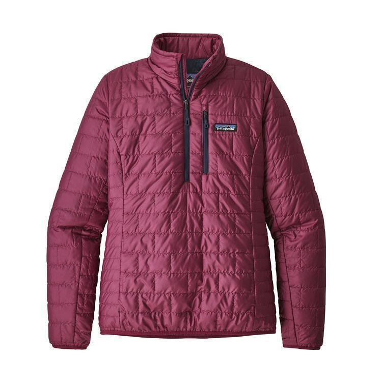 photo: Patagonia Women's Nano Puff Pullover synthetic insulated jacket
