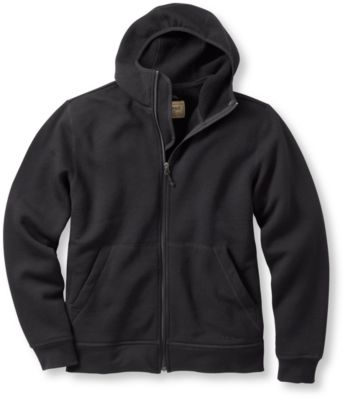 photo: L.L.Bean Merino Wool Hooded Sweatshirt wool jacket