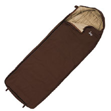photo: Slumberjack Log Cabin 40 warm weather synthetic sleeping bag