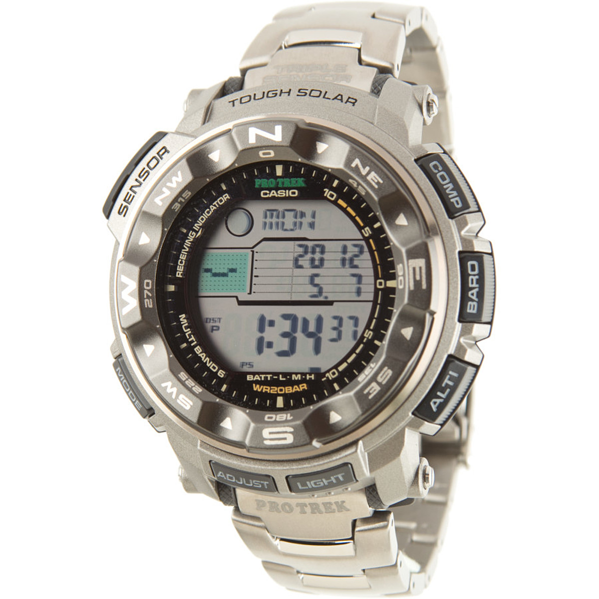 photo: Casio PRW2500T-7 compass watch
