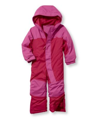 photo: L.L.Bean Cold Buster Snowsuit kids' snowsuit/bunting